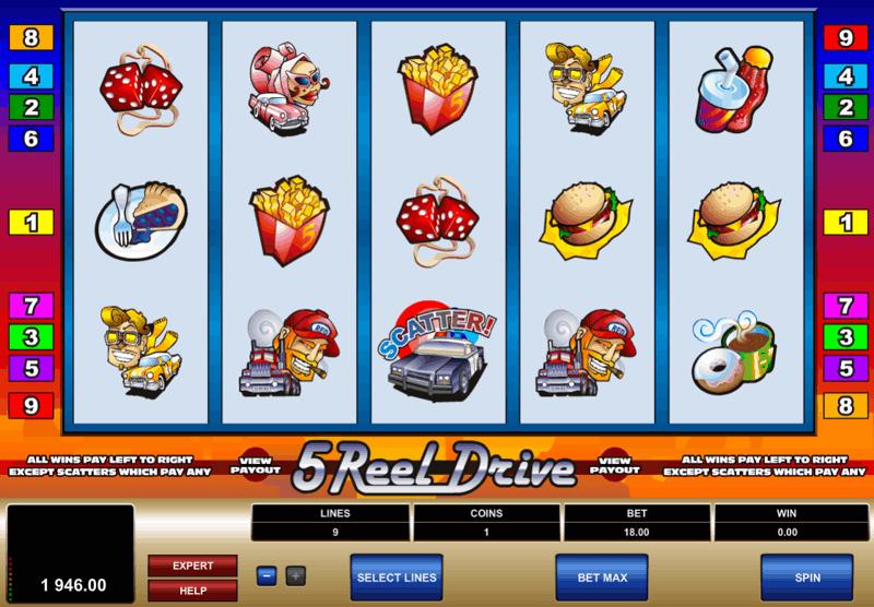 5 Reel Drive Screenshot