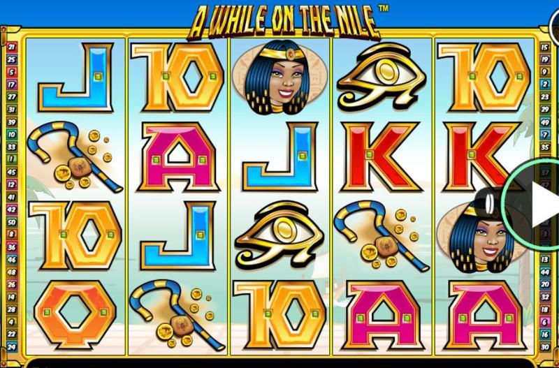 A While on the Nile Screenshot