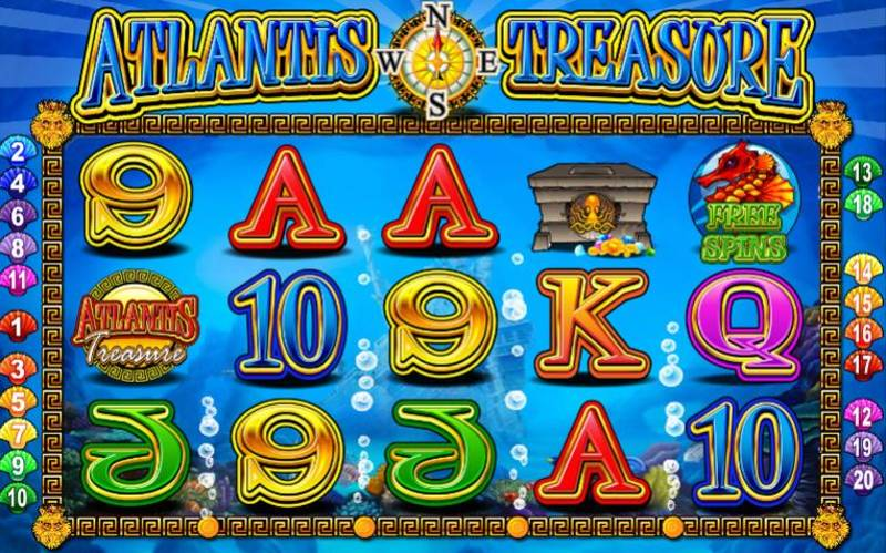 Atlantis Treasure Screenshot