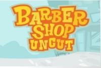 Barber Shop Uncut Logo