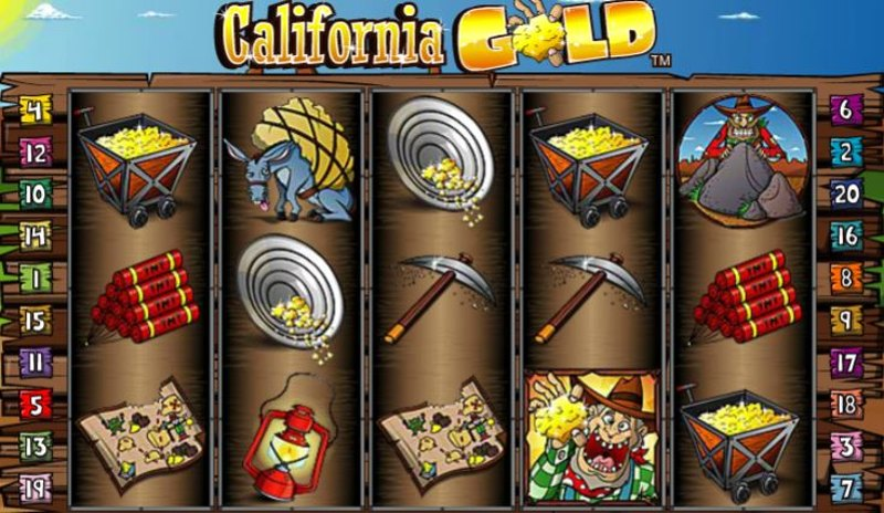 California Gold Screenshot