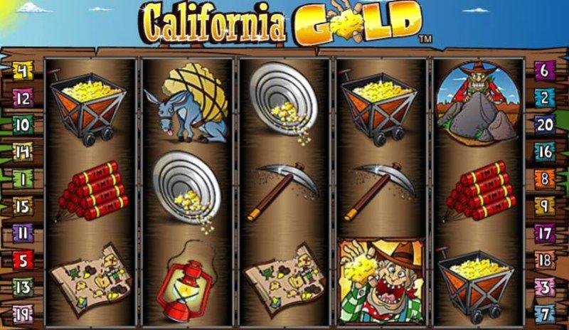 California Gold Screenshot