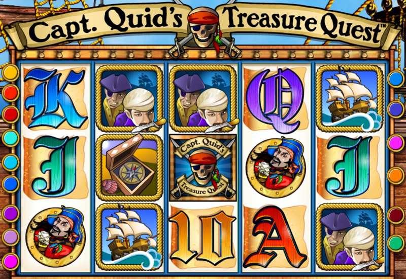 Captain Quid's Treasure Quest Screenshot