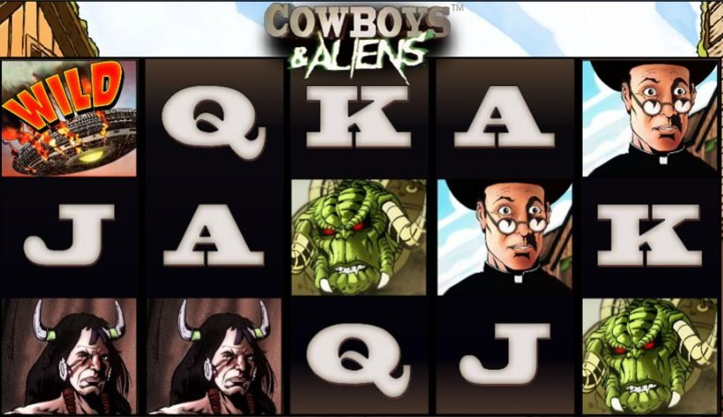 Cowboys and Aliens Screenshot