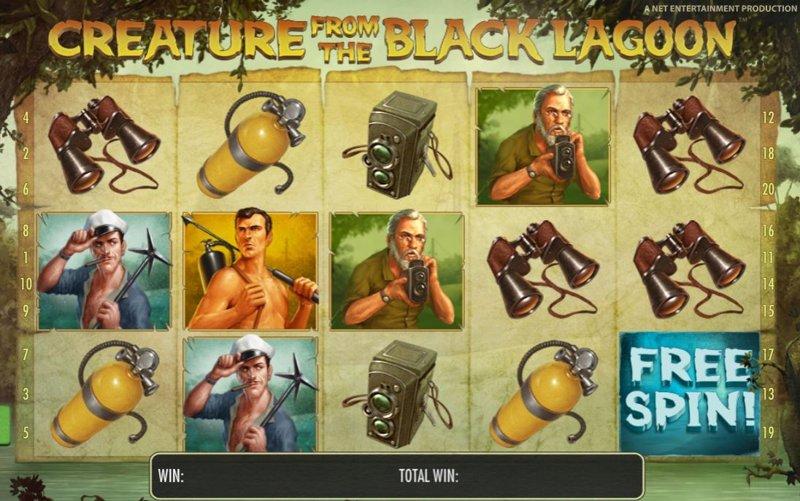 Creature from the Black Lagoon Screenshot