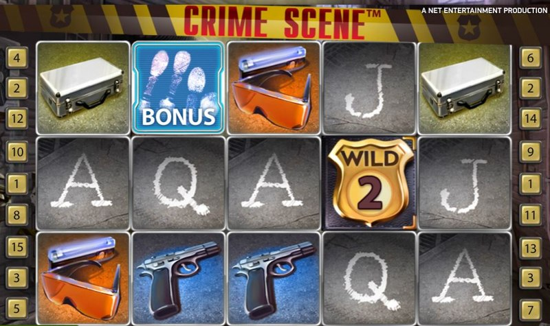 Crime Scene Screenshot