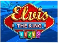 Elvis The King Lives Logo