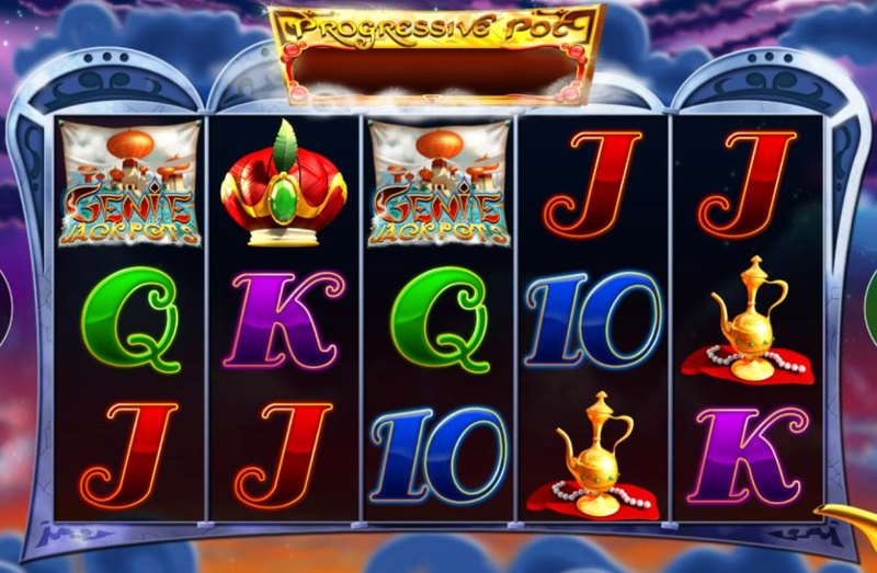 Genie Jackpots Screenshot