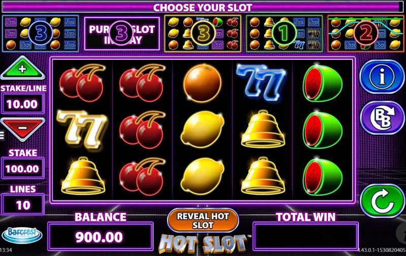 Hot Slot Screenshot