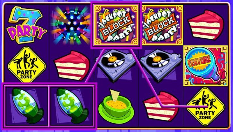 Jackpot Block Party Screenshot