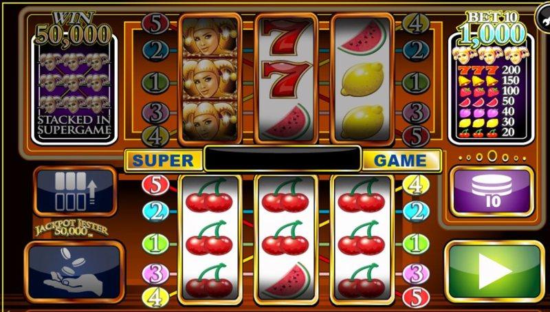 Jackpot Jester 50,000 Screenshot