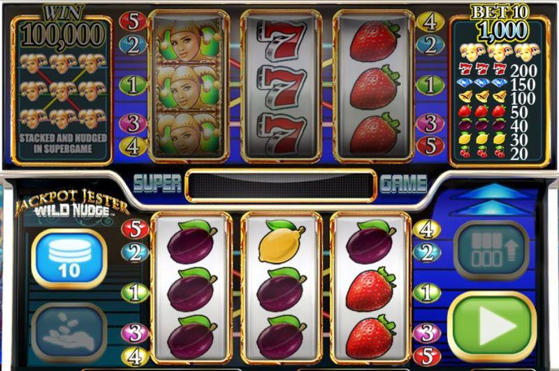 Jackpot Jester Wild Nudge Screenshot