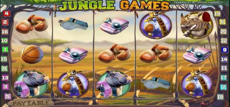 Jungle Games Screenshot