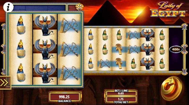 Lady of Egypt Screenshot