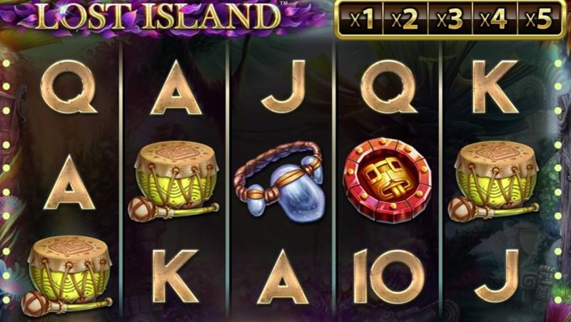 Lost Island Screenshot
