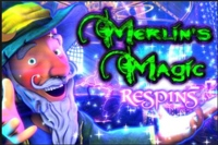 Merlins Magic Respins Logo