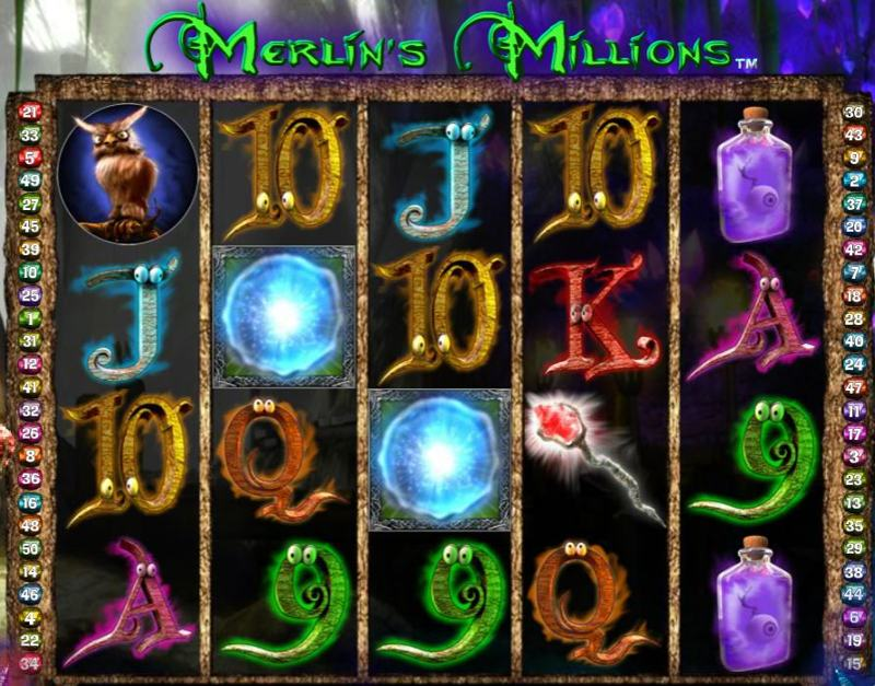 Merlin's Millions Screenshot