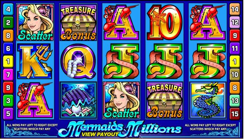 Mermaids Millions Screenshot