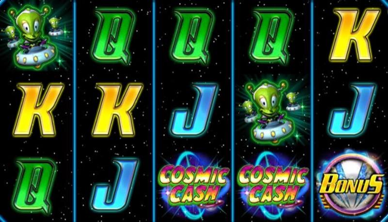 Money Mad Martians Cosmic Cash Screenshot