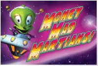 Money Mad Martians Cosmic Cash Logo