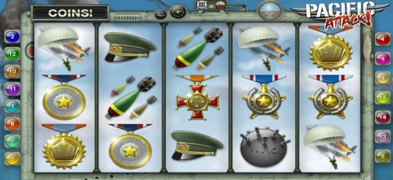 Pacific Attack Screenshot