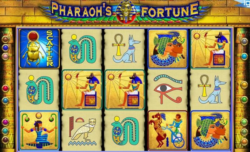 Pharaoh's Fortune Screenshot