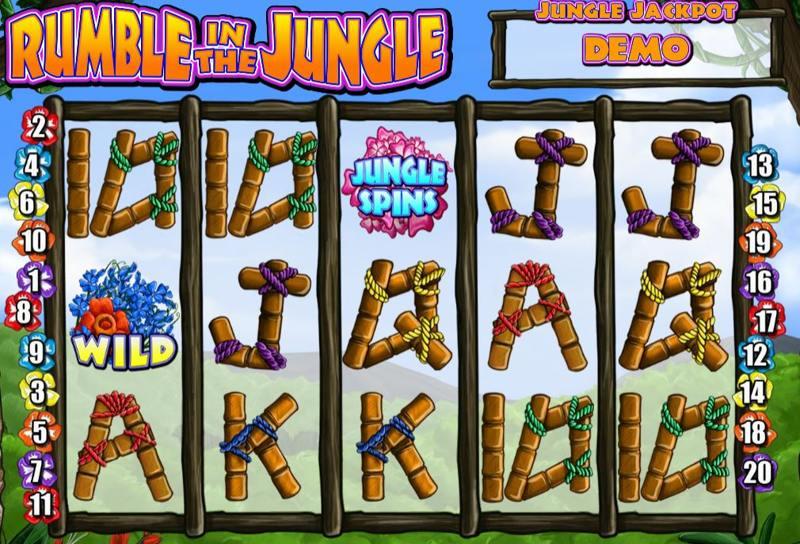 Rumble In The Jungle Screenshot