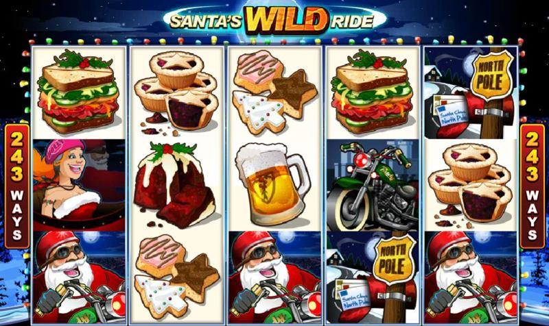 Santa's Wild Ride Screenshot