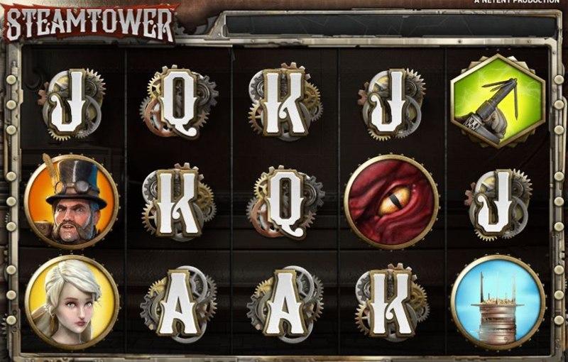 Steam Tower Screenshot
