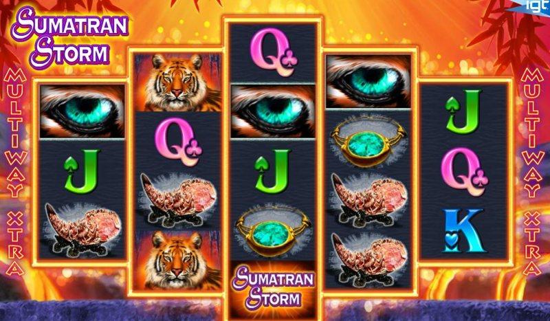 Sumatran Storm Screenshot