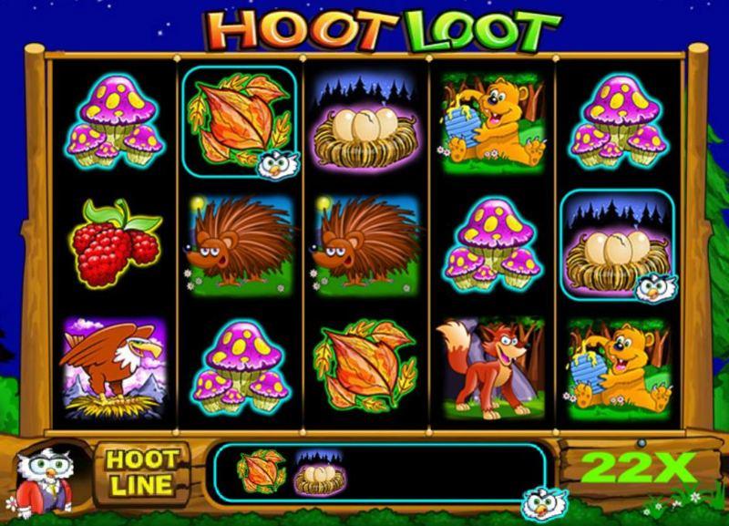 Super Hoot Loot Screenshot