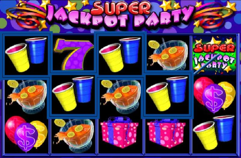 Super Jackpot Party Screenshot