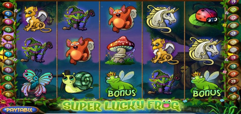 Super Lucky Frog Screenshot