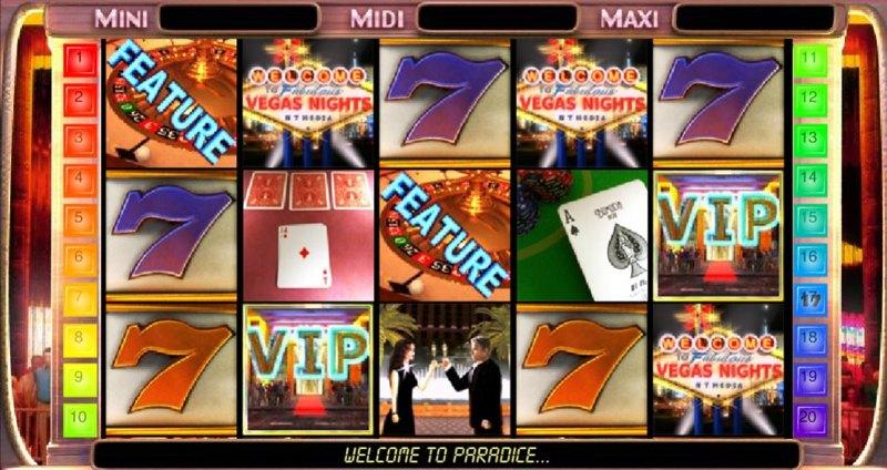 Vegas Nights Screenshot