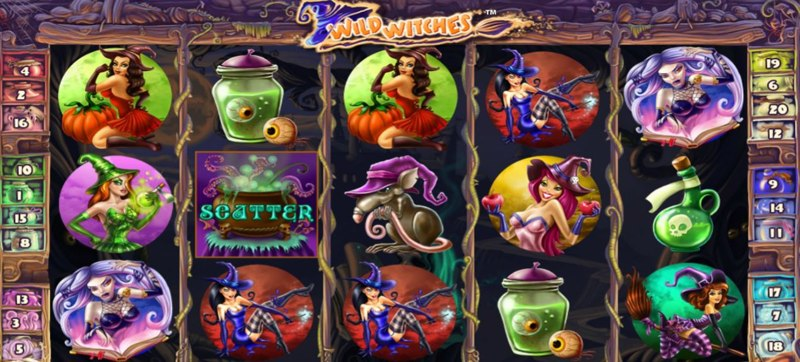 Wild Witches Screenshot