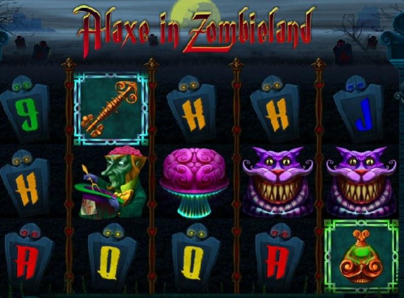 Alaxe in Zombieland Screenshot