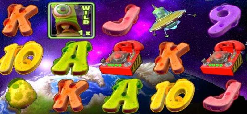 Alien Spinvasion Screenshot