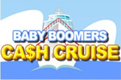 Baby Boomers Cash Cruise Logo