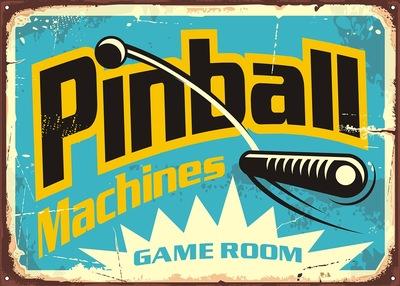 Pinball Sign