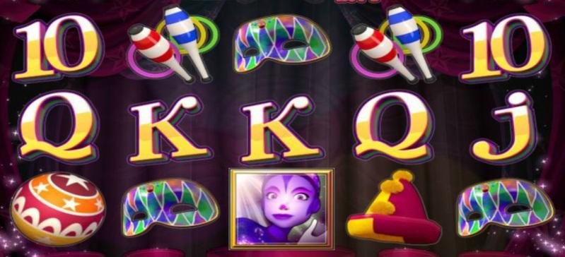 Cirque Du Slots Screenshot