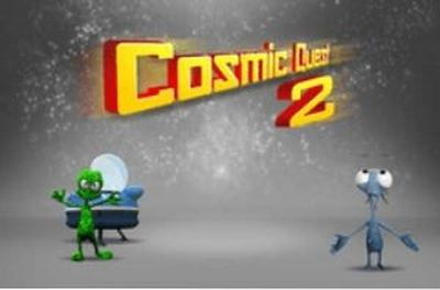 Cosmic Quest Mystery Planets Logo