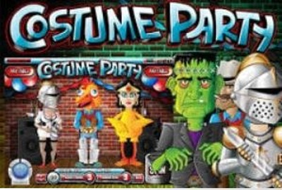Costume Party Logo