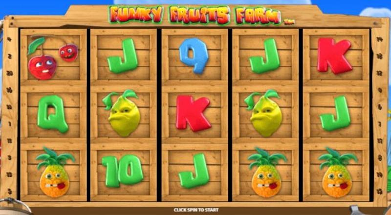 Funky Fruits Farm Screenshot