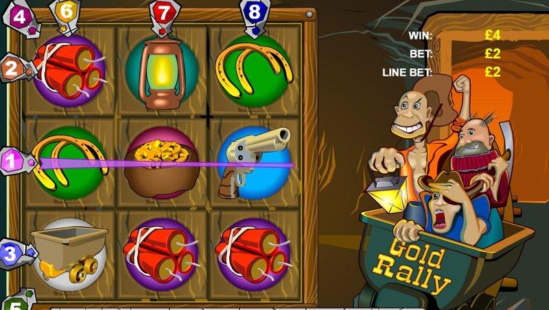 Gold Rally Screenshot