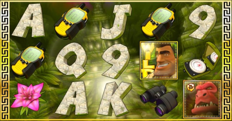 Johnny Jungle and the Hidden Temple Screenshot