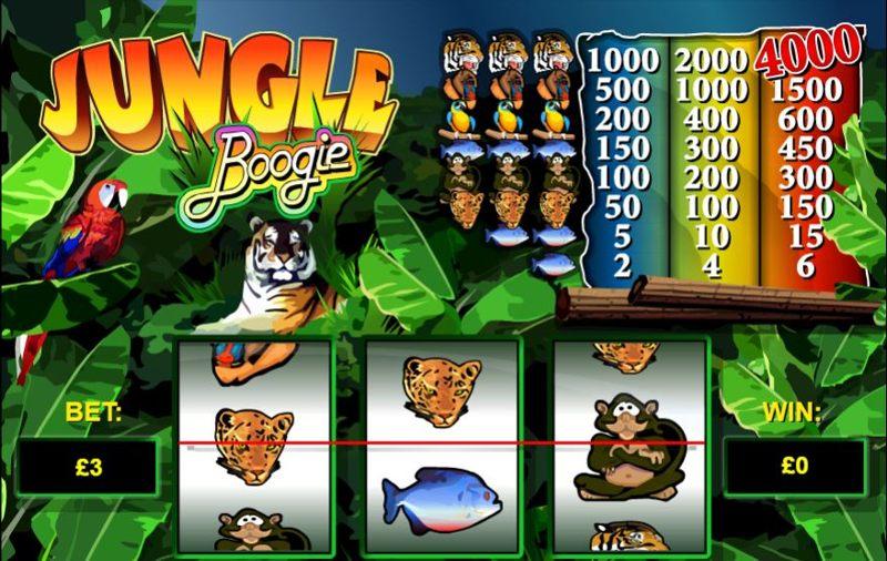 Jungle Boogie Screenshot