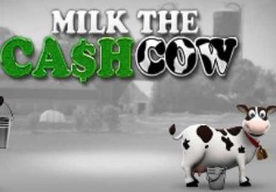 Milk the Cash Cow Logo