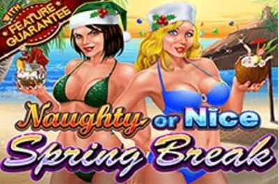 Naughty or Nice Spring Break logo