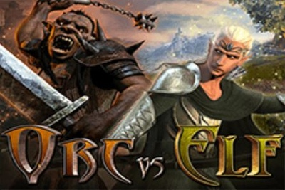 Orc vs Elf Logo