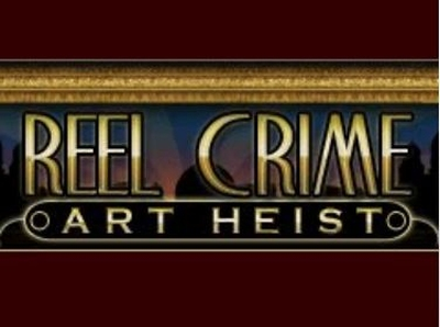 Reel Crime Art Heist Logo